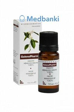 Нероли эфирное масло 100% «Aromacosmetics» 10 мл и/к Галенофарм