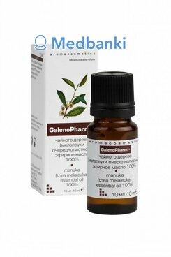 Чайного дерева (мелалеуки очереднолистной) эфирное масло 100% «Aromacosmetics» 10 мл и/к Галенофарм