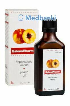 Персиковое масло 50 мл пл. фл. и/к Aromacosmetics Галенофарм