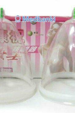 Женские массажные вакуумные банки для груди 2 шт, размер M