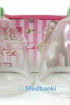 Женская массажная вакуумная банка для груди 1 шт, размер M