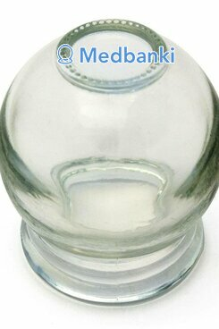 Стеклянная банка 33-35 мм, №2