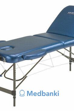 Складной массажный стол Anatomico Breeze (синий)