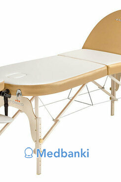 Складной массажный стол Anatomico Milano (золотой)