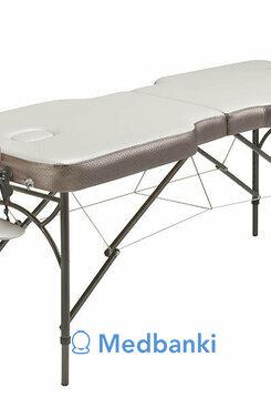 Складной массажный стол Anatomico Royal (серебристый)
