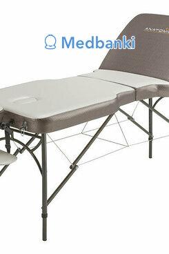 Складной массажный стол Anatomico Verona (серебристый)