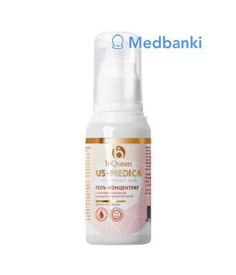 Гель-концентрат для лица US Medica Hyaluronic Acid, 30 мл - смотреть фото, видео