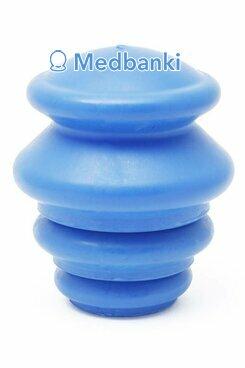 Антицеллюлитные резиновые вакуумные массажные банки мягкие, 4шт