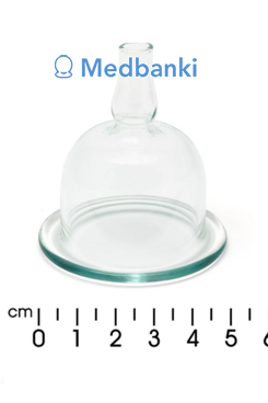 Резервуар косметической банки 50 мм