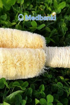 Щетка для сухого массажа из пальмового волокна
