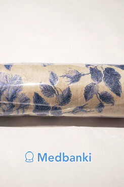Валик можжевелово-лавандовый, материал Гобелен, 32*10 см,
