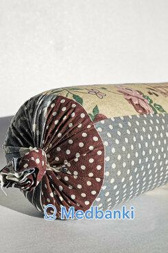 Валик можжевеловый, материал Сатин/Бязь, 32*10 см